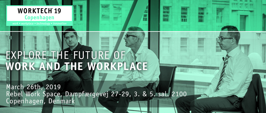Rebel Work space will be the Official Host Partner of WorkTech19 this spring