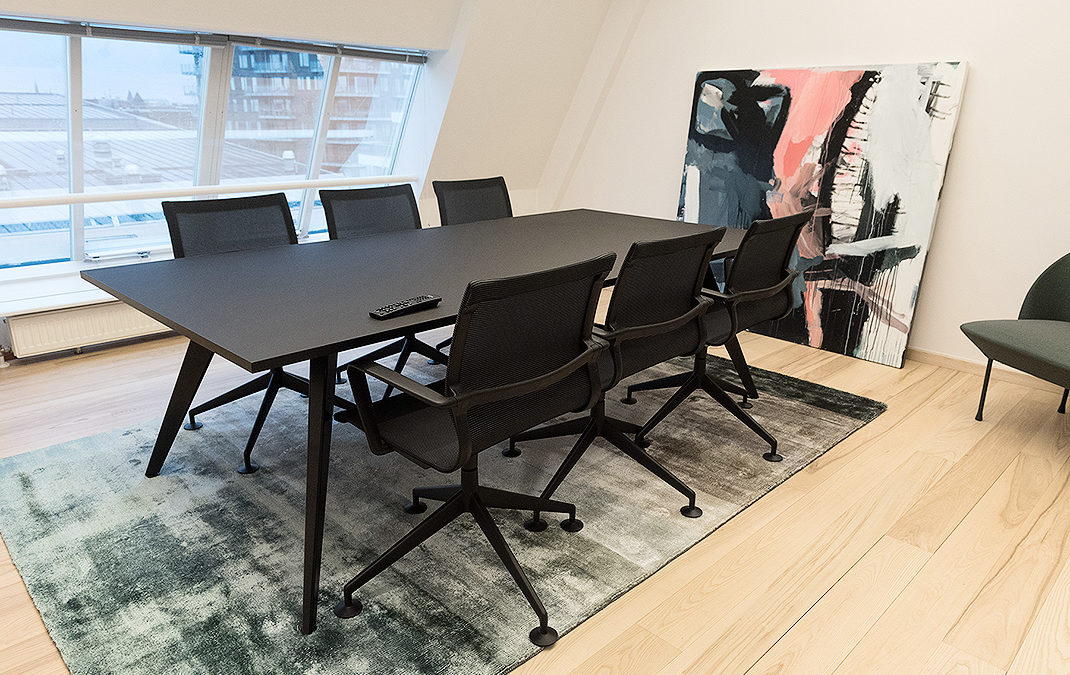 Coworking space, spirit og design til rebeller på business class
